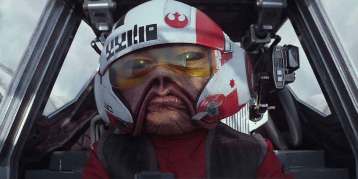 Nein Nunb in The Force Awakens