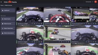 Formula 1 has adopted M2A Media's new cloud-IP transport service, M2A CONNECT, to acquire, process, and distribute its live content.