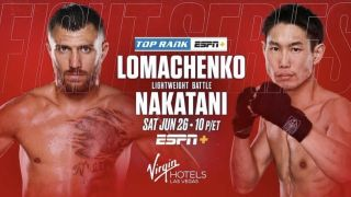 live stream lomachenk vs nakatani - boxing poster