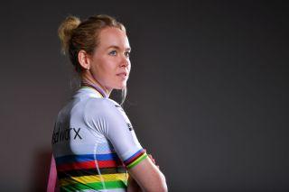 Anna van der Breggen of Team SD Worx