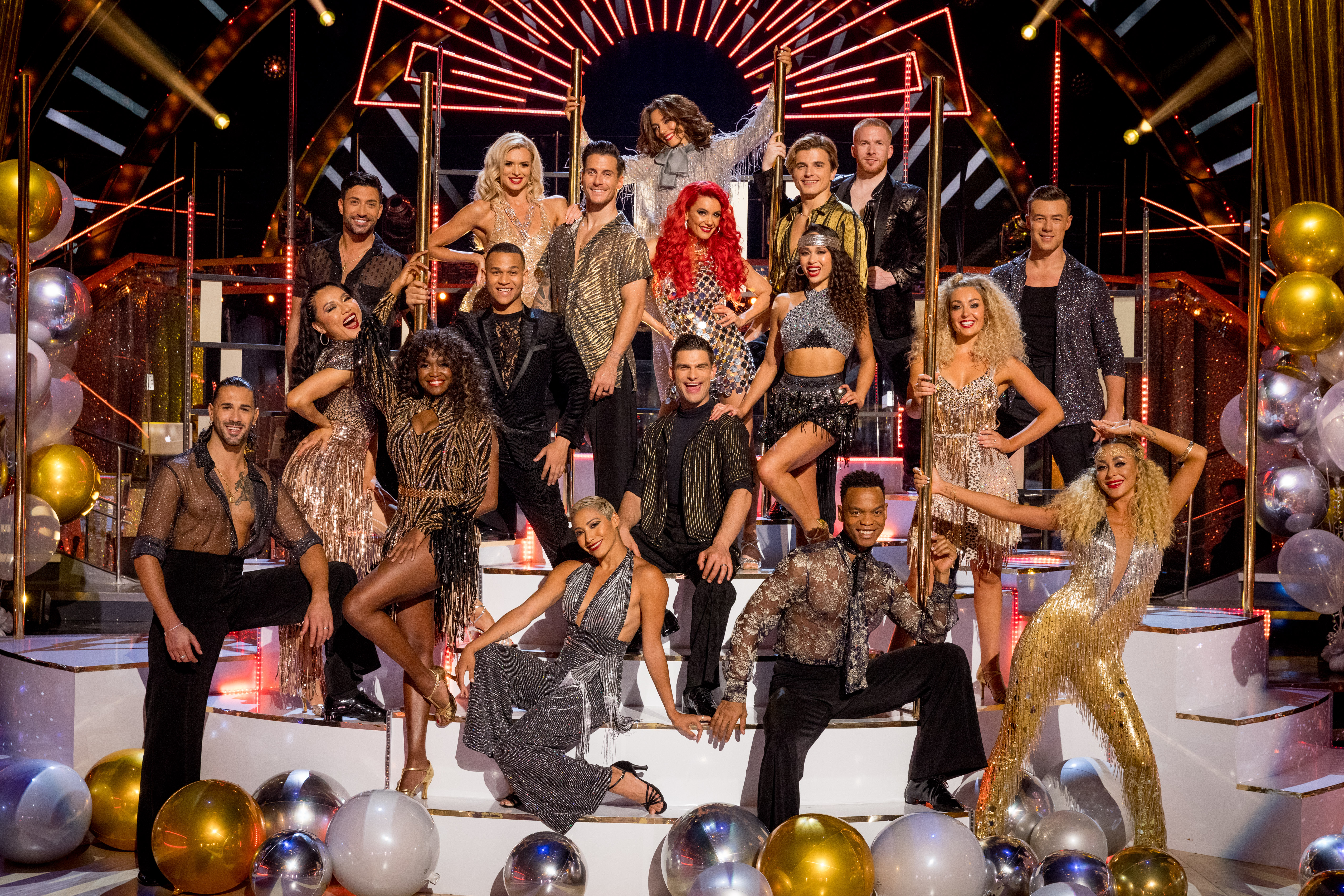 TV tonight The cast of Strictly Come Dancing 2021.