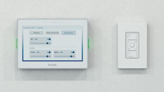 Extron has partnered with Lutron, a leader in lighting controls and automated shading solutions, to combine Extron's control capabilities with the Lutron Vive Wireless lighting control solution for today's smart building projects.