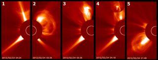 solar eruptions sun filaments