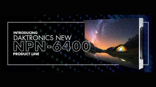 Daktronics NPN-6400 LED display
