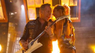 James Hetfield and Lady Gaga