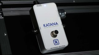 Keeley Electronics Katana Boost Throwback White