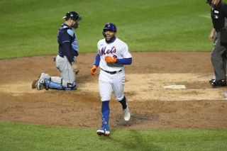 Dominick Smith of the New York Mets