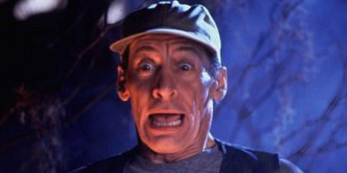 Ernest, scared