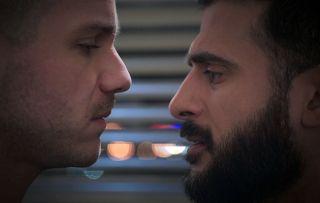 Holby Isaac Dominic kiss