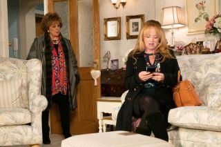 Rita and Jenny in Coronation Street