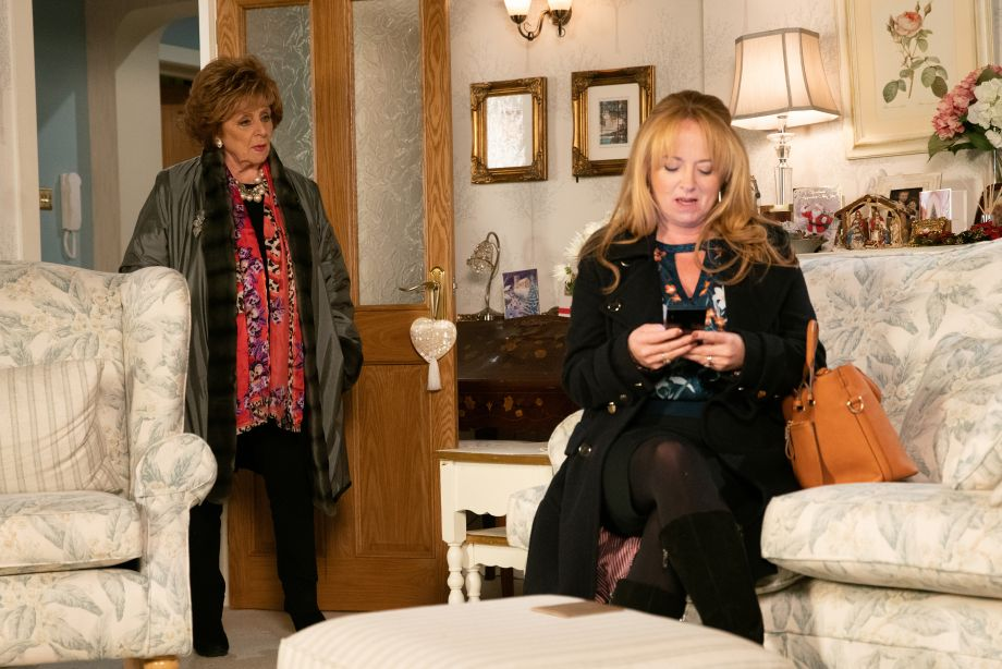 Rita and Jenny in Coronation Street