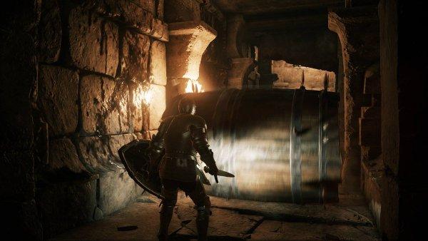 Barrel trap of doom in Deep Down