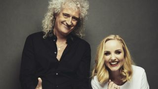 Brian May and Kerry Ellis