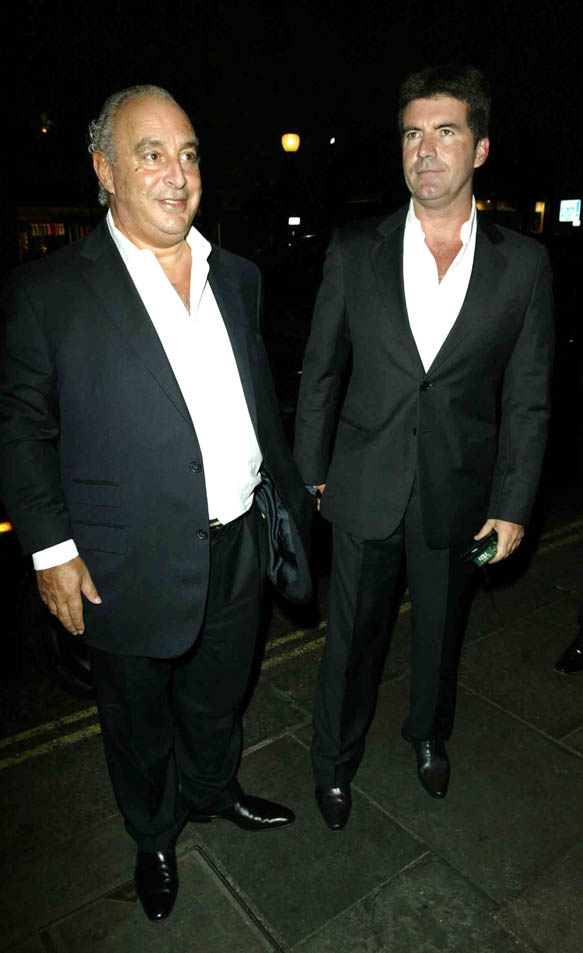 Simon Cowell and Sir Philip to launch Disney rival