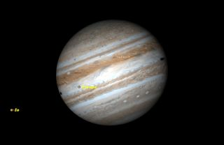 Dec. 8 Double Shadow Transit of Jupiter