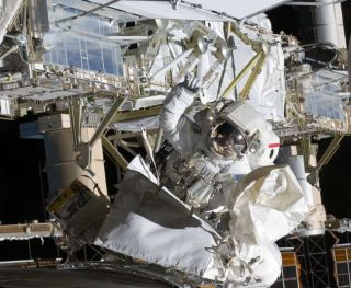 Astronauts Set for Third Spacewalk Outside Station