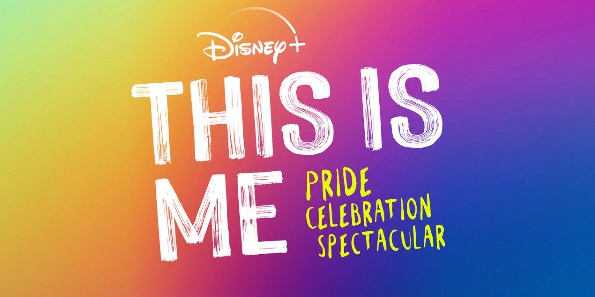 The Disney+ This Is Me Pride Celebration Spectacular logo