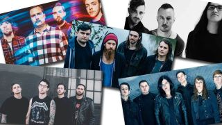 Pictures of Black Peaks, Heck, The Black Queen, Creeper and Cane Hill