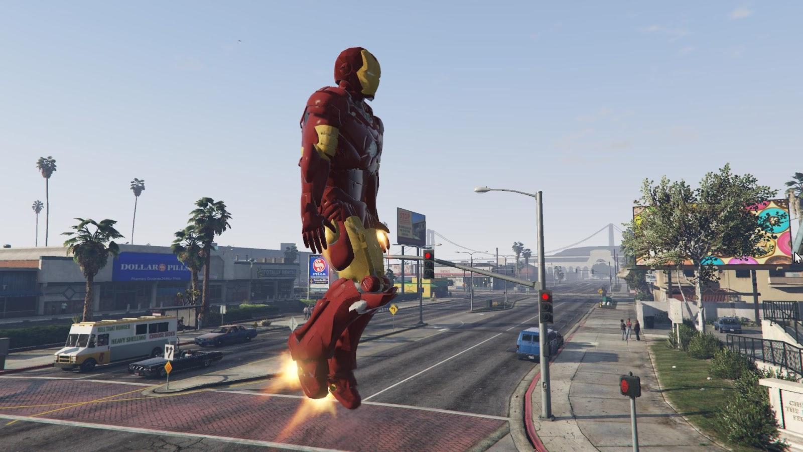 Meet the GTA 5 modder bringing The Avengers to Los Santos | PC Gamer