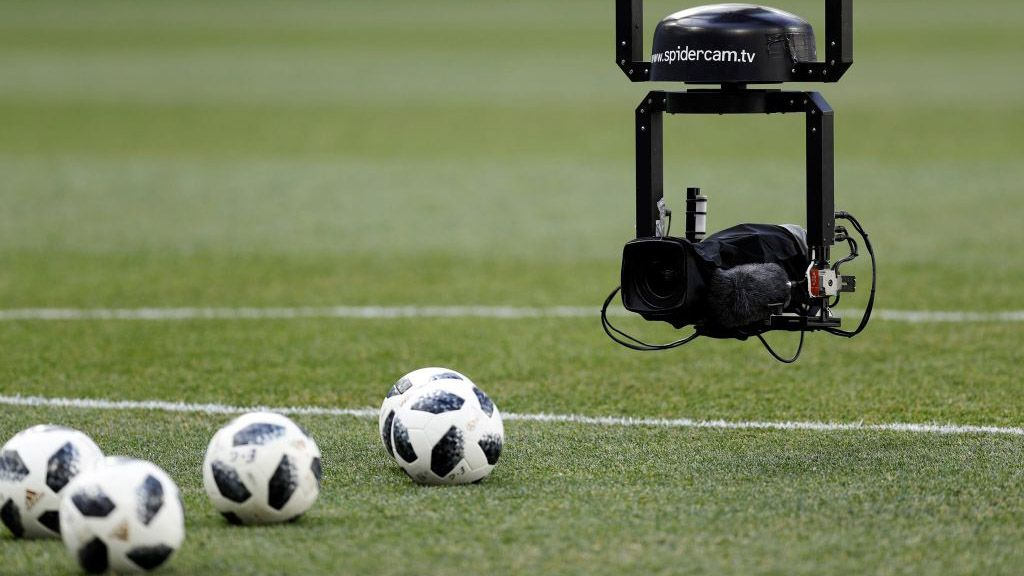 The technology and equipment needed to film all 64 matches of the 2018 World Cup