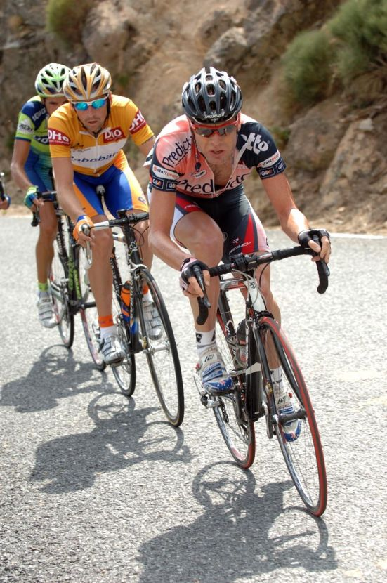 Tour of Spain 2007 st18 Cadel Evans Denis Menchov
