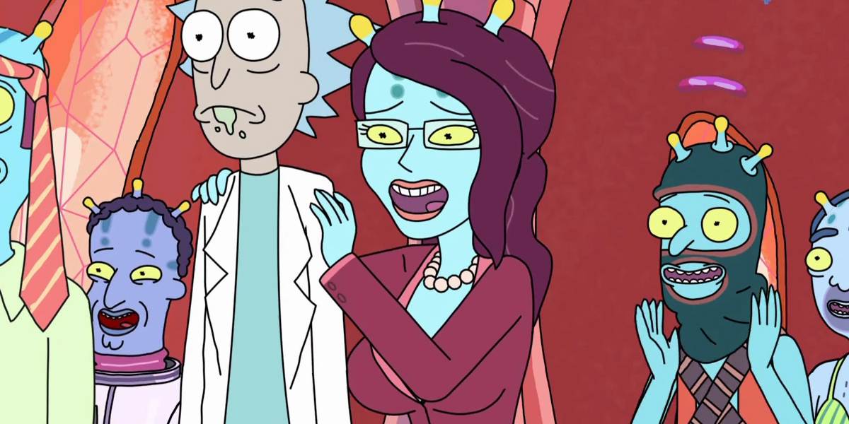 Unity Rick and Morty