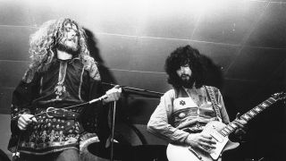 Led Zeppelin onstage