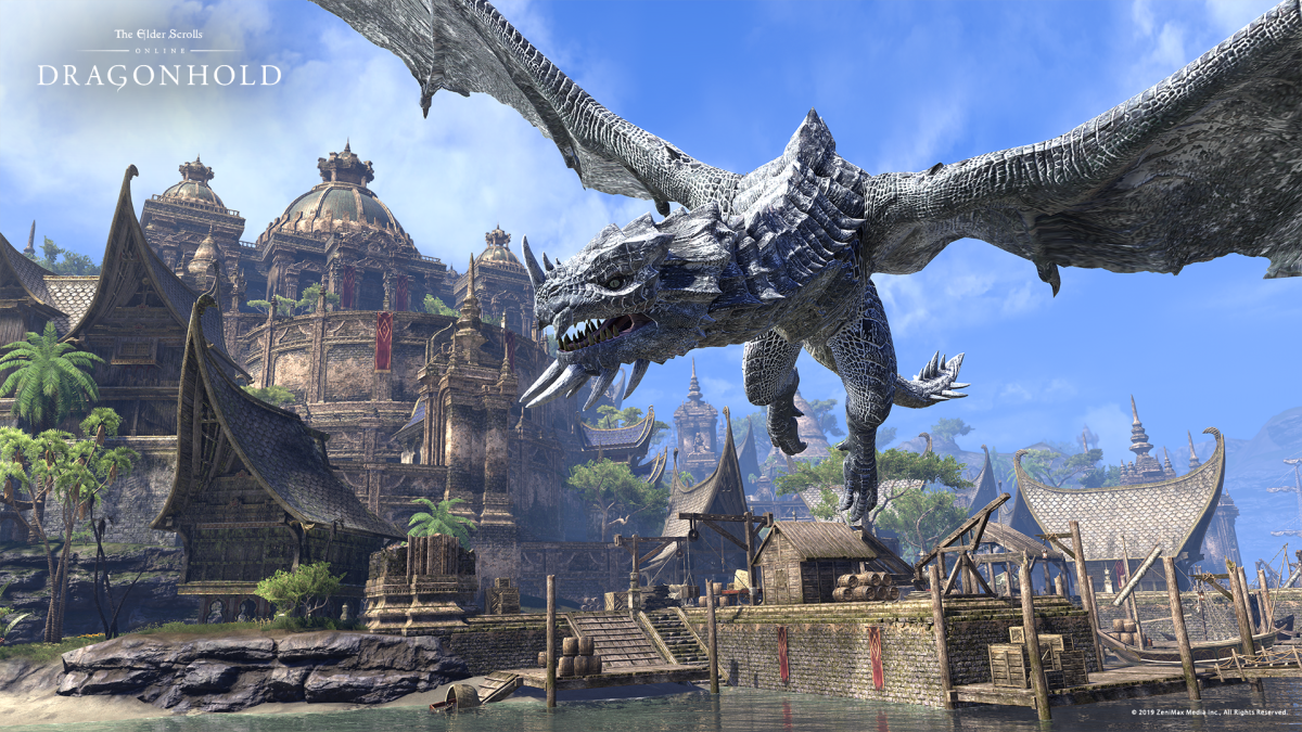 New Elder Scrolls Online Expansion Pits You Against Deadly Dragons