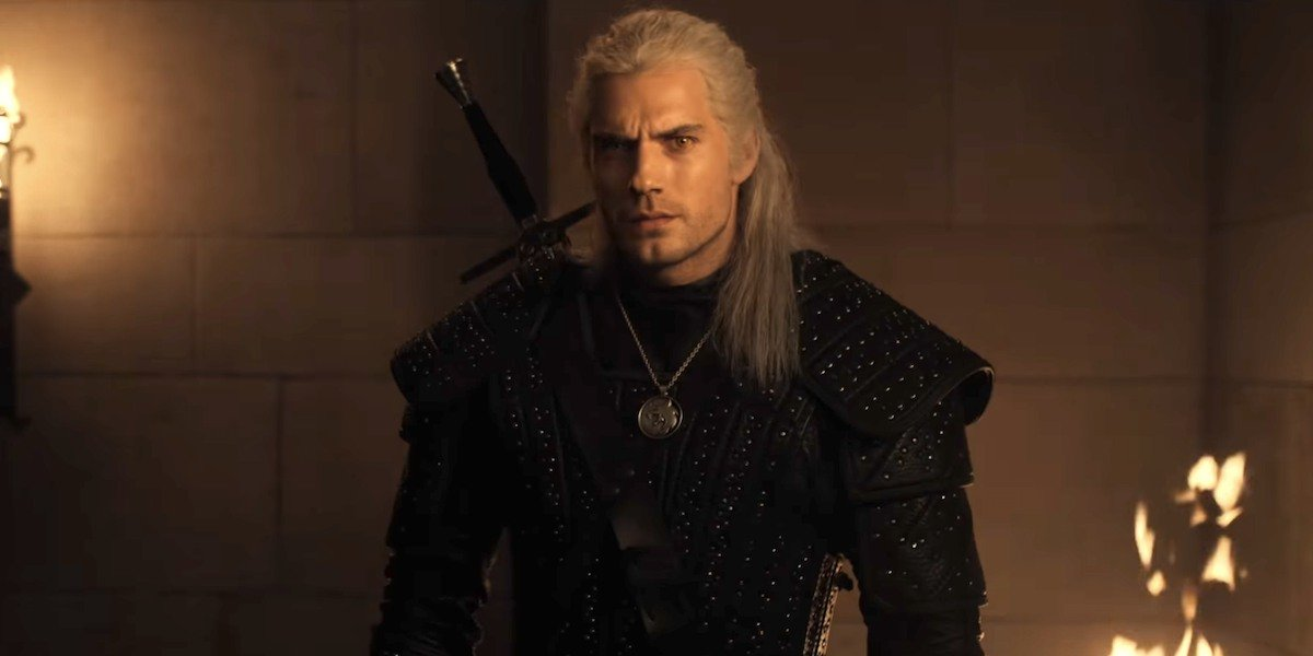 Geralt in The Witcher.