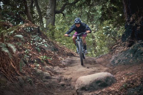 Rapha Women's Trail Shorts and 3/4 Sleeve Jersey