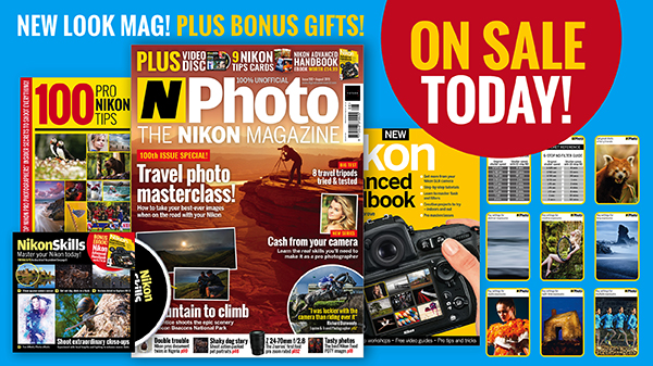 Travel photo masterclass! Issue 100 of N-Photo on sale today – with bonus gifts! | Digital Camera World