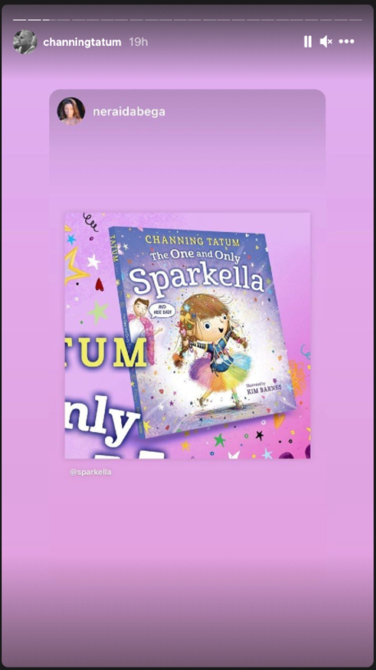 The One and Only Sparkella cover