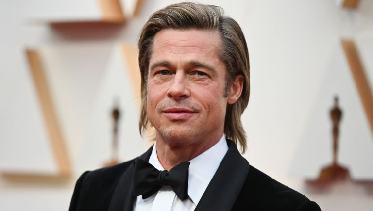 US actor Brad Pitt arrives for the 92nd Oscars at the Dolby Theatre in Hollywood, California on February 9, 2020.