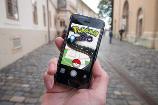 Die App Pokemon Go auf einem Smartphone