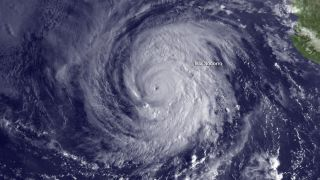 Hurricane Miriam on Sept. 24, 2012