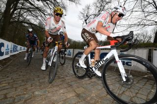 Naesen and Van Avermaet at Gent-Wevelgem