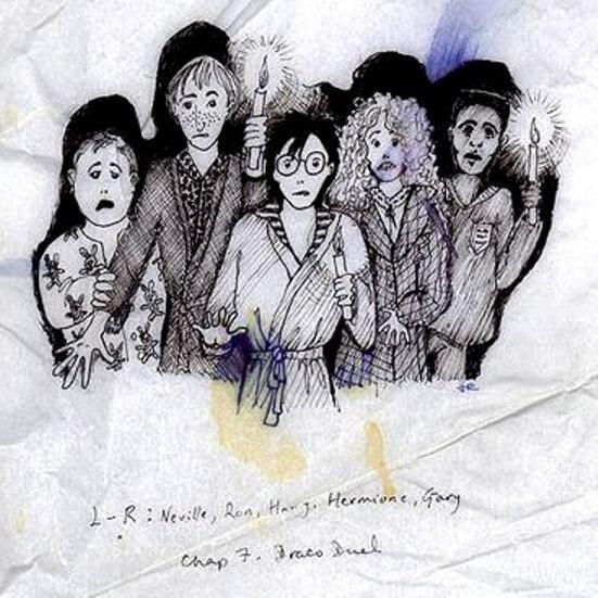 J.K. Rowling's early Harry Potter sketches are a must-see