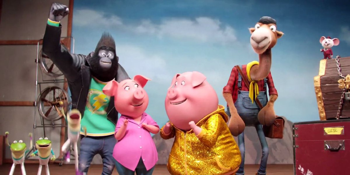 The Sing cast