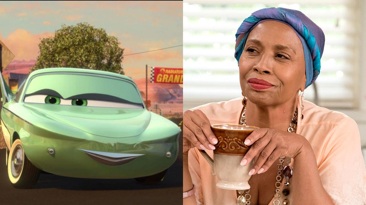 Flo in Cars; Jenifer Lewis on black-ish
