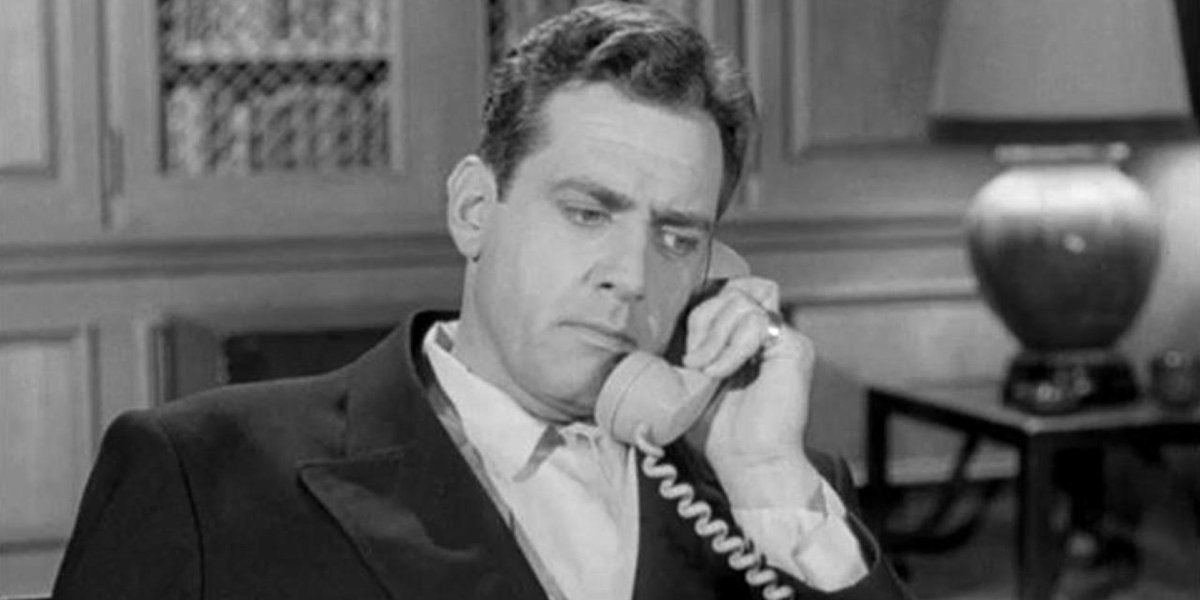 Raymond Burr on Perry Mason