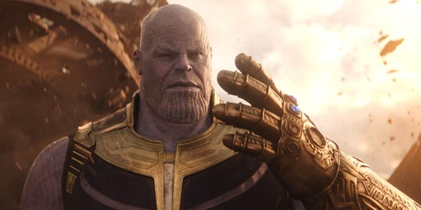 Josh Brolin plays Thanos in Avengers: Infinity War, Marvel Studios, MCU