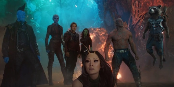 The Guardians of the Galaxy, including the new members.