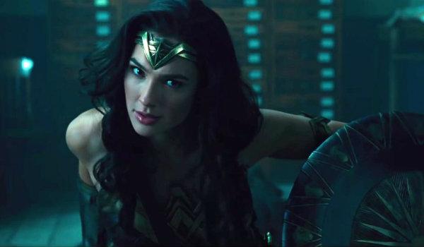 Wonder Woman Fight Scene