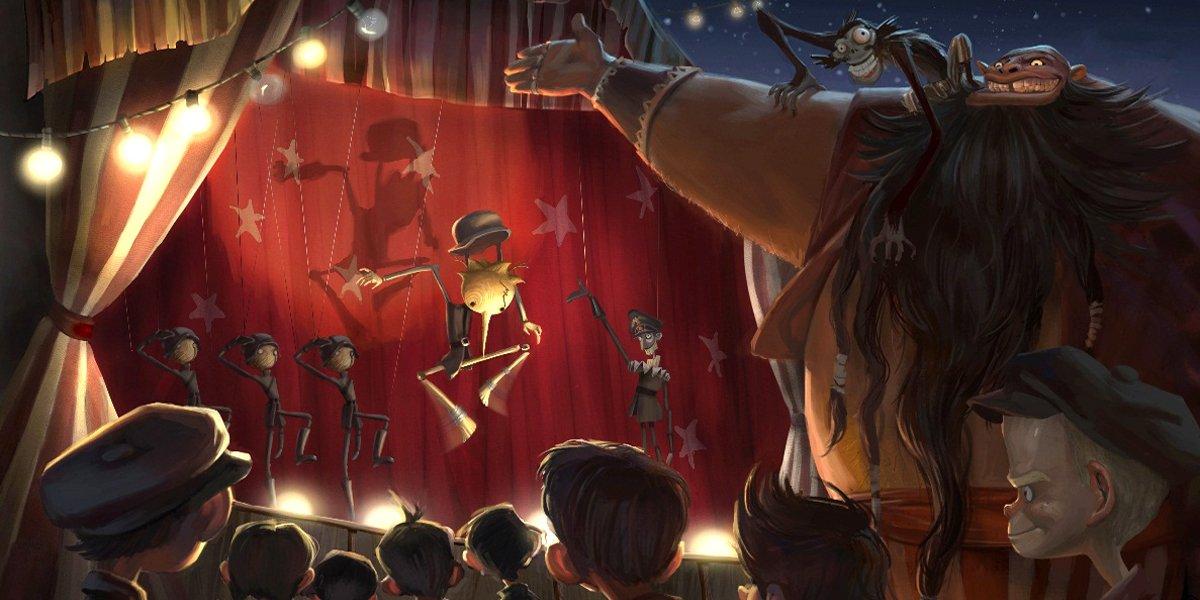Pinocchio in Guillermo Del Toro's Remake