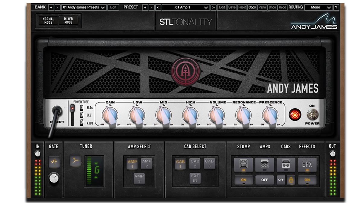 STL Tones unveils the Andy James signature plugin | MusicRadar