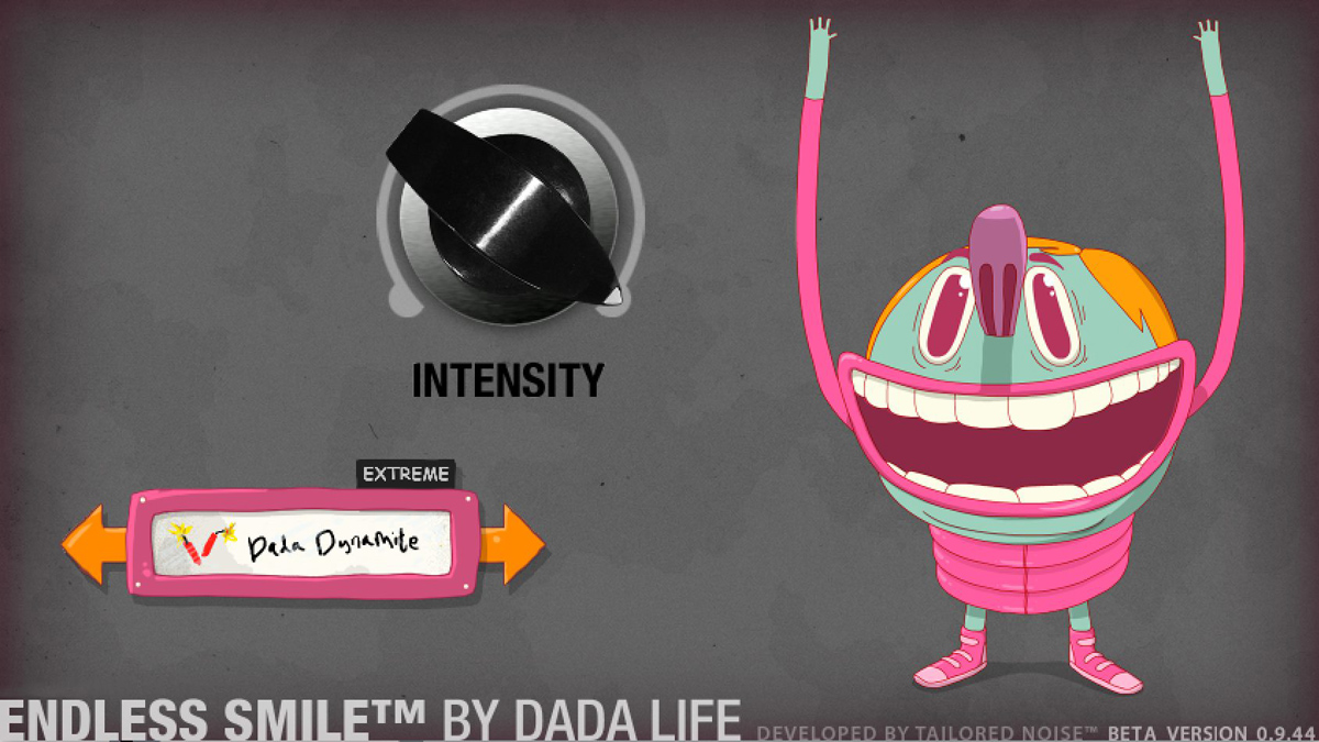 Dada Life's Endless Smile lets you create build-ups, risers and