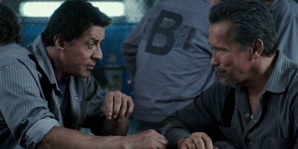 Sly and Arnie in Escape Plan