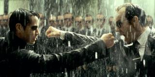 Neo fighting Agent Smith