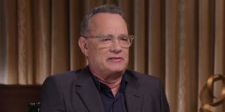 Tom Hanks interview screenshot