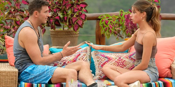 Bachelor in Paradise Blake talks to Kristina ABC